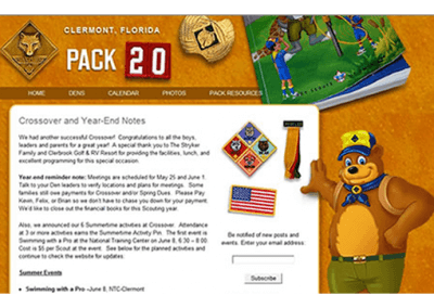 Clermont Pack 20