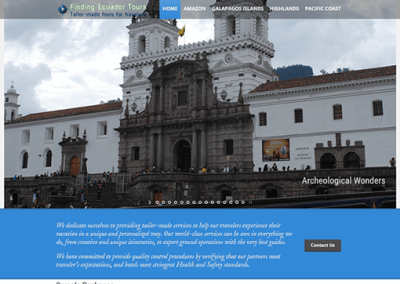 Ecuador Travel Site